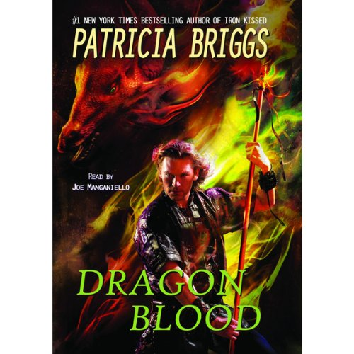 Dragon Blood audiobook cover art