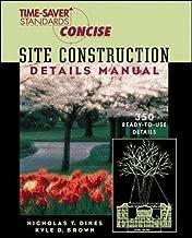 Time-Saver Standards Site Construction Details Manual