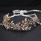 PLUS PO Accesorios Pelo Accesorios Pelo niña Corona Diadema De Moda Sombreros Cristal de la Cabeza Diadema de Flores De Plata la Cabeza