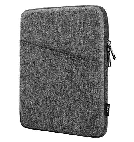 TiMOVO 9-11 Zoll Tablet Sleeve Hülle Kompatibel mit 2020 iPad Air 4 10.9, iPad Pro 11 2018-2021, iPad 10.2, Galaxy Tab A7 10.4, S6 Lite 2020, Surface Go 2/1, Smart Keyboard Schutzhülle, Dunkel Grau