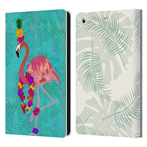Official Suzan Lind Flamingo Birds Leather Book Wallet Case Cover Compatible For Apple iPad mini 1 / mini 2 / mini 3