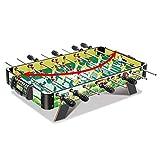 JJSFJH Tabla futbolín Miniatura Juegos de Juegos portátil Mesa de futbolín fútbol Tops de fútbol for niños y Adultos - recreativo de fútbol Mano, 73 * 36 * 15.5cm