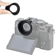 Eyecup Eye Cup Eyepiece Rubber for Fuji Fujifilm XT30 XT20 XT10 X-T30 X-T20 X-T10 Viewfinder Installed via Hot Shoe -Black