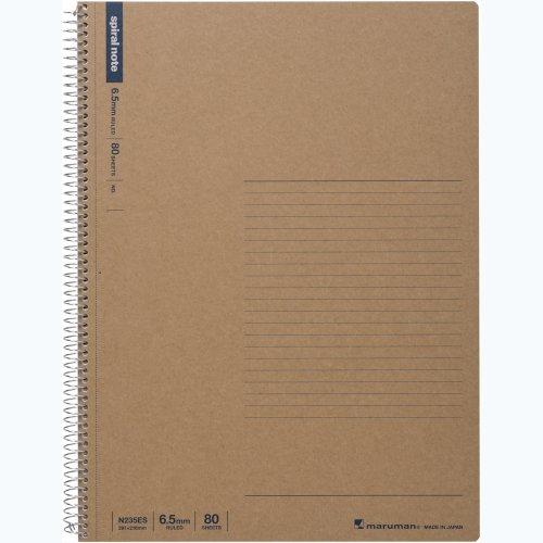 マルマン ノート リングノート 6.5mm 罫 ベーシック A4 80枚 N235ES