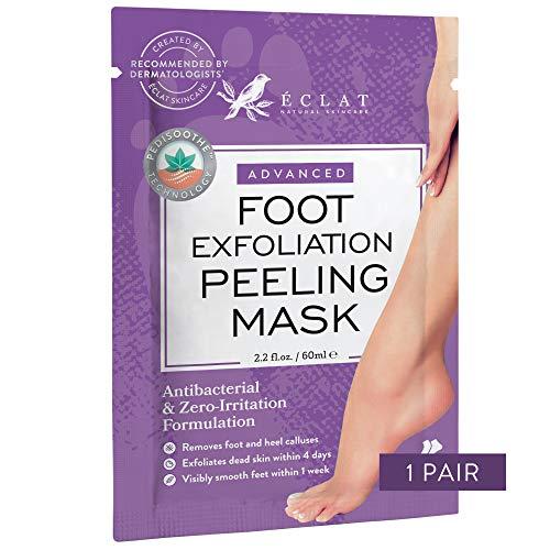 𝗗𝗘𝗥 𝗦𝗜𝗘𝗚𝗘𝗥 𝟮𝟬𝟮𝟬* Fußpeeling-Maske zur Entfernung von Hornhaut für weiche Babyfüße - 8 MAL Kräftiger für Hornhaut & tote/trockene Haut - beseitigt raue Fersen in 5 Tagen