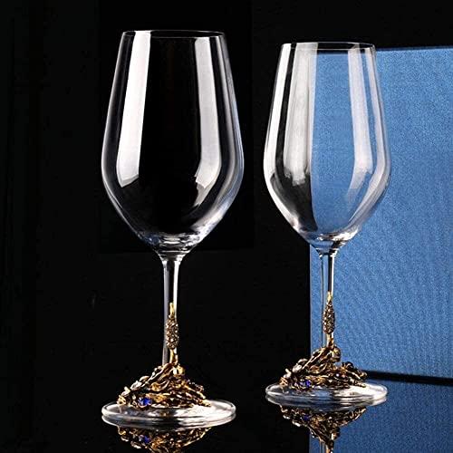 YHQKJ Vasos de Whisky Decantador de Whisky, Conjunto de decantadores de Vino Tinto, Vidrio de Cristal sin Plomo con ventilación a Mano, Aire Acceso de Vino con aireador con Base Amplia, 1300 ml