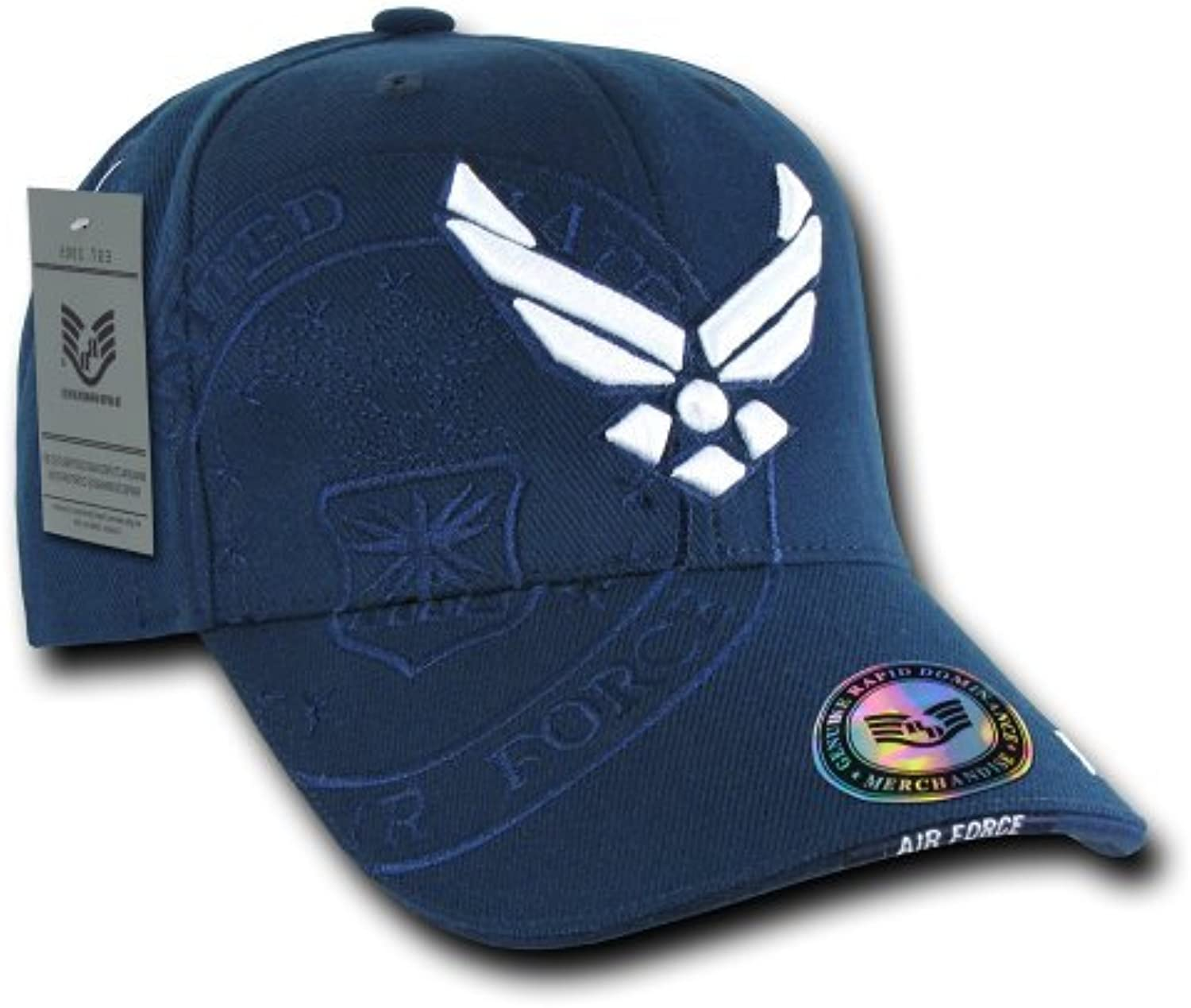 Rapiddominance Air Force Wing Shadow Cap, Navy by Rapid Dominance