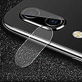 Pieza de repuesto para cámara trasera de 0,3 mm 2.5D de borde redondo lente de cámara trasera de cristal templado para Vivo Y95