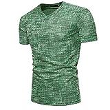 NOBRAND New - Camiseta de manga corta para hombre Verde verde M