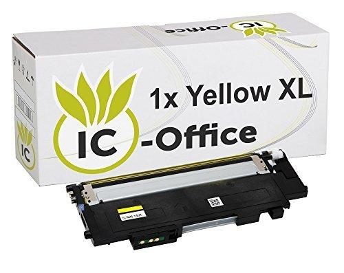 IC-Office 1x XL Toner Yellow Gelb kompatibel für Samsung CLT-Y404S-ELS CLT-404S CLT-404 CLT-P404C für Xpress C430 Series C430W C480 Series C480FN C480FW C480W