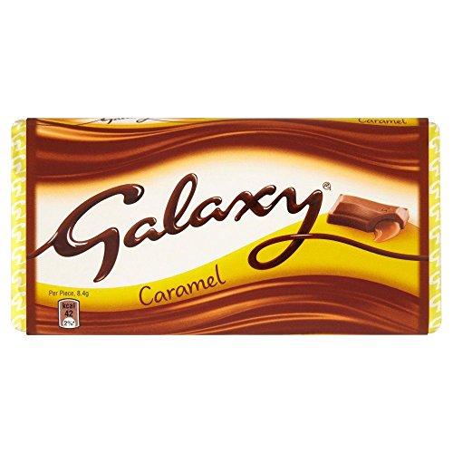 Galaxy Karamell Schokoladen Tafel - 135g - 4-er Pack