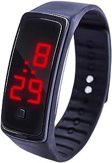 Orologio Bambino XYBB Orologio da polso con display digitale a LED Orologio da polso per studenti con cinturino sportivo i...