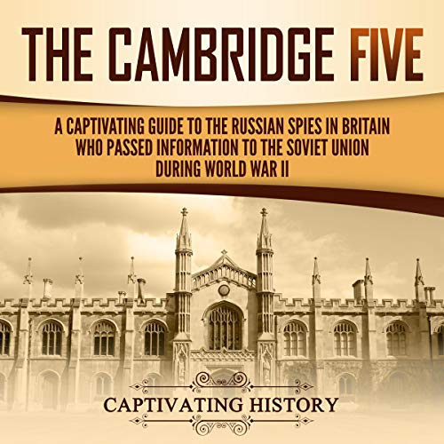 The Cambridge Five audiobook cover art