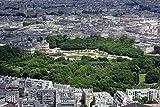 100/300/500/1000 piezas juego de rompecabezas juguetes para niños adultos,Vista de pájaro en París con el Palacio de Luxemburgo y Notre Dame Juegos mágicos de bricolaje