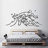 LKJHGU Autocollant Mural en Vinyle Ocean Wave