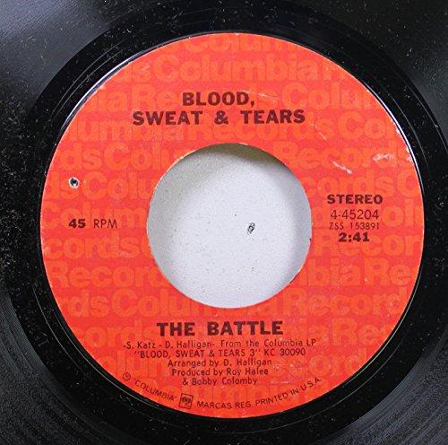 Blood Sweat & tears - hi-de-ho / the battle 45 rpm single