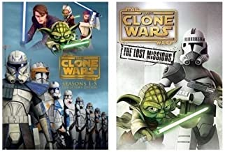 Star Wars:The Clone Wars Season1-6 Complete Series+Season 6 Lost Mission DVD