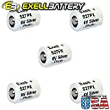 5pc Exell S27PX 6V Silver Oxide Battery EPX27 V27PX 4NR43 KX27 HS3C