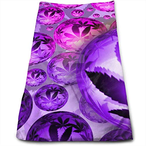 Marihuana Tie Dye - Toallas de mano para baño, lavable a máquina, toallas de cocina para secado, limpieza de cocina, horneado
