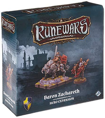FFG RWM32 Runewars: Baron Zachareth Games, Multicolor