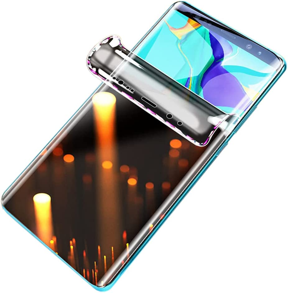 Premium Privacy Hydrogel Protective Film for Samsung Galaxy Note20 / Note 20 5G/4G, 2 Pieces Soft TPU Screen Protectors [Anti-spy] [Full Coverage] [Clear HD] (NOT Tempered Glass)