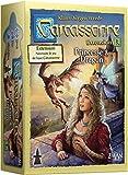 Asmodée - CARC05 -  Jeu de stratégie - Extension 3 - Princesse et Dragon pour Carcassonne