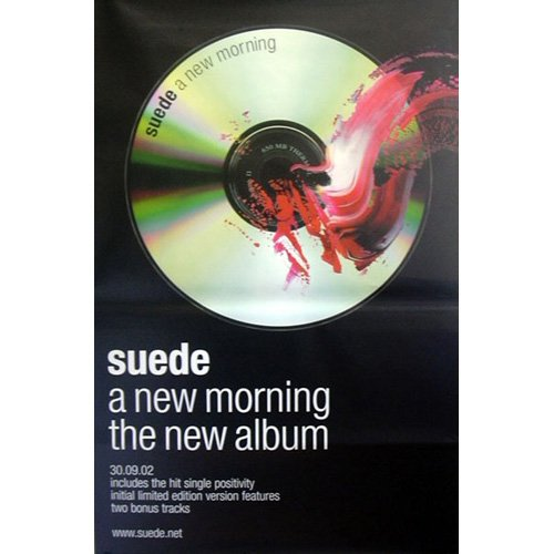"""Suede - Poster gigante """"A new morning"""""""