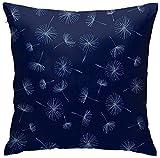 Dandelion Breeze to Match - Funda de almohada decorativa con estampado de origami, fundas de almohada gruesas, fundas de almohada para exteriores, ultra suaves para cama