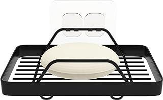 KINCMAX Bar Soap Holder Tray Shower Dish, Wall Mount Bathroom Soap Dishes in Shower Shelf Bathtub Metal Kitchen Sink Rack ...