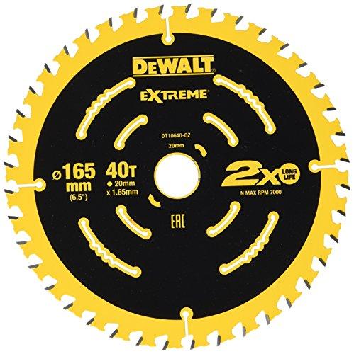 Dewalt DT10640-QZ accucirkelzaagblad 165x20 40 WZ 18° voor DCS391