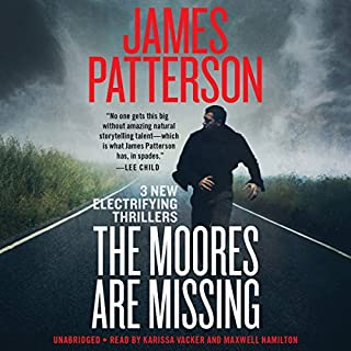 The Moores Are Missing audiobook cover art