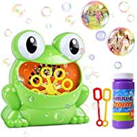 Homofy Bubble Machine with Bottle Durable Solution