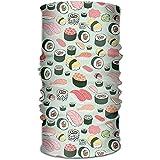 RP Amazing Scarf Wrap,Japanese Sushi Sports \U0026 Casual 12-In-1-Kopftuch Kopftuch Wickelgamaschen Stirnband Helm Liner Sturmhaube Für Sportliches Laufen Reiten 25x50cm