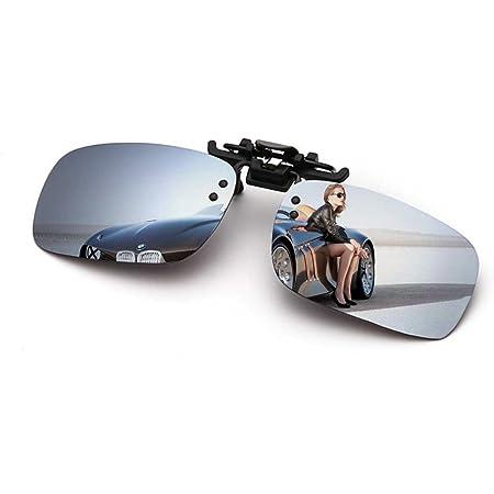 偏光クリップオンサングラス クリップ サングラス クリップオン 釣り ドライブ アウトドア 自転車 バイクなどに