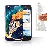 Stuff4 Phone Case for Huawei Ascend G630 Geometric Animal