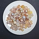 QWEQWE Aguas de Flores Naturales aleatorias Mini Setas de Cuarzo Cuarzo de Cristal Talla de Piedra Crafts Gemstone Colgante Regalo (Size : 5pcs)