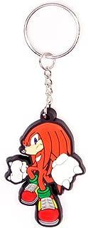 Bioworld Merchandising - Sonic - The Hedgehog Rubber Keychain Knuckles