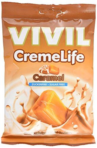 Vivil Cremelife ohne Zucker, Caramel, 9er Pack (9 x 110 g)