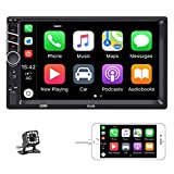 Double Din Car Stereo in-Dash Car Radio with Bluetooth 7 Inch Touch Screen