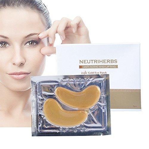 Neutriherbs Under Eye Patches Eye Mask for Dark Circles Eye Skin Care Anti-Wrinkle Eye Bags Treatment, Anti Wrinkle Tissue Rejuvenation(5PCS)