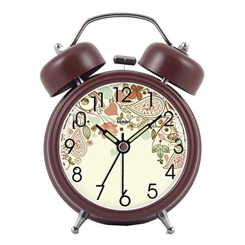 Limao Smart Uhr, Schüleruhr, Wecker, Nachtlicht, Stumm, Kreative Mode, Elektronische Uhr, Nachttischuhr, Kinderwecker, Braun 1