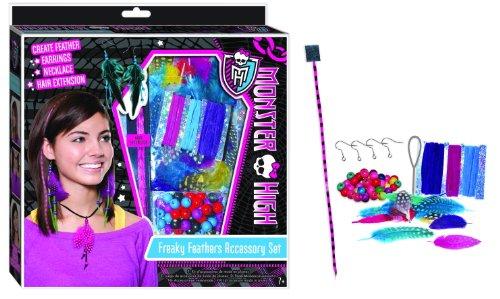 MONSTER HIGH Kit d'accessoires pour cheveux PLUMES