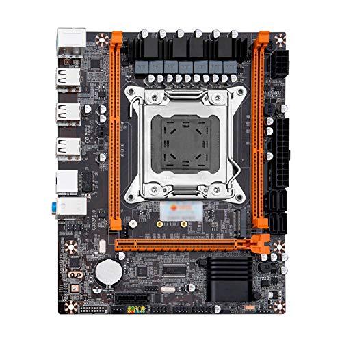 Fit For HUANANZHI X79-4M REV2.0 M.2 MATX con Intel Xeon E5-2620 V2 2,1 GHz CPU 2 * 8 GB (16 GB) DDR3 1600MHz RECC RAM Placa Base de computadora