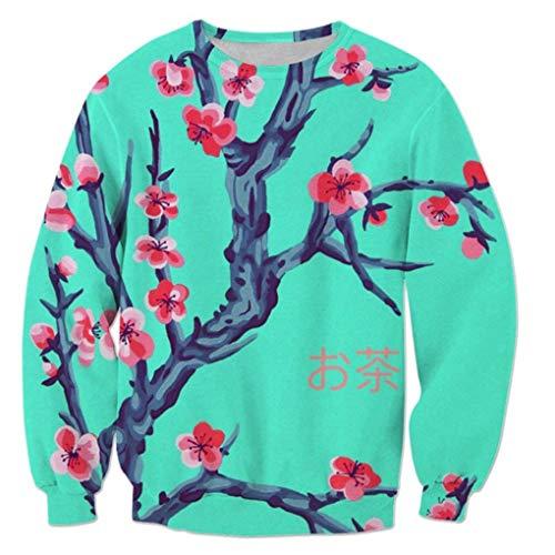 Harajuku Arizona Té Verde 3D De ImpresióN Chaqueta Mujer/Hombre Casual Streetwear Sportswear Hoodies De Las Muchachas Modis CháNdales De Ropa Femenina Arizona Sweatshirt 5XL