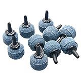 Uniclife 10PCS Forme de Boule 2cm Air Stone Mineral Bubble Diffuser Airstones pour Aquarium, Pompe.