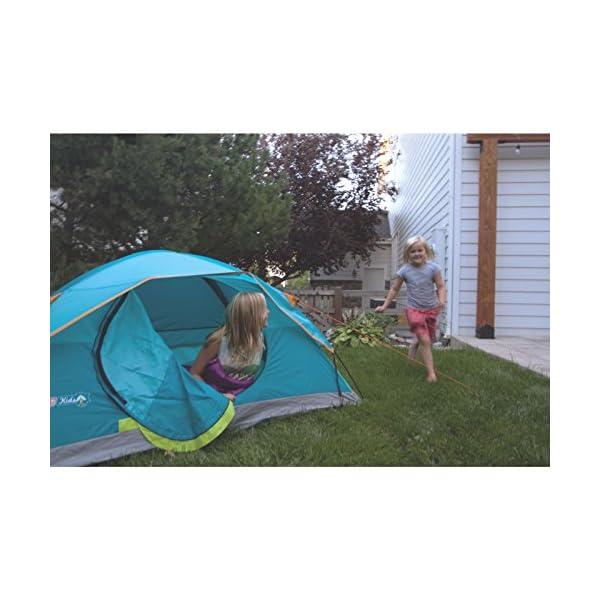 Coleman Kids Wonder Lake 2-Person Dome Tent, 4' x 7'