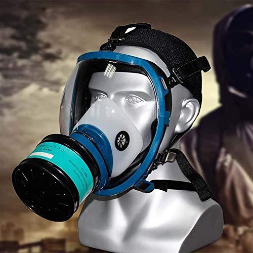 Volgelaats hoofdventilatiemasker Biochemisch gasmasker Op grote schaal gebruikt in organisch gas, verfspray, chemicaliën, houtbewerking, stofbescherming