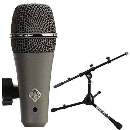 Telefunken M81de SH dinámico micrófono Keepdrum MS118Micrófono trípode pequeño