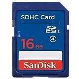サンディスク SDHCメモリーカード 16GB Class4スタンダード SDSDB-016G-J35U