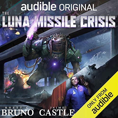 The Luna Missile Crisis audiobook cover art